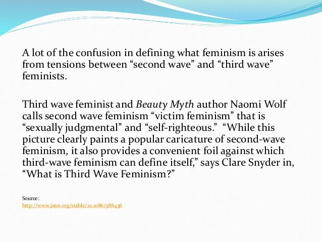 third wave feminism and advertising An exploration into how contemporary women are used within advertising and feminism, gender stereotypes and advertising a third wave of feminism.
