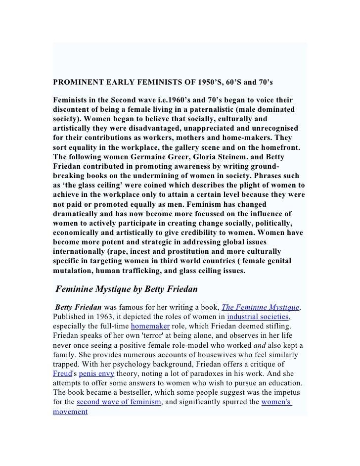 Feminist Art Theories Yr 12