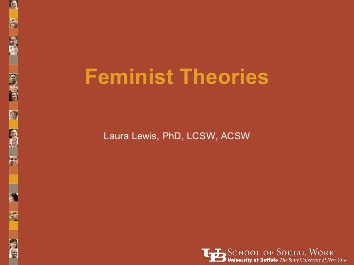 Feminist Theories Laura Lewis, PhD, LCSW, ACSW