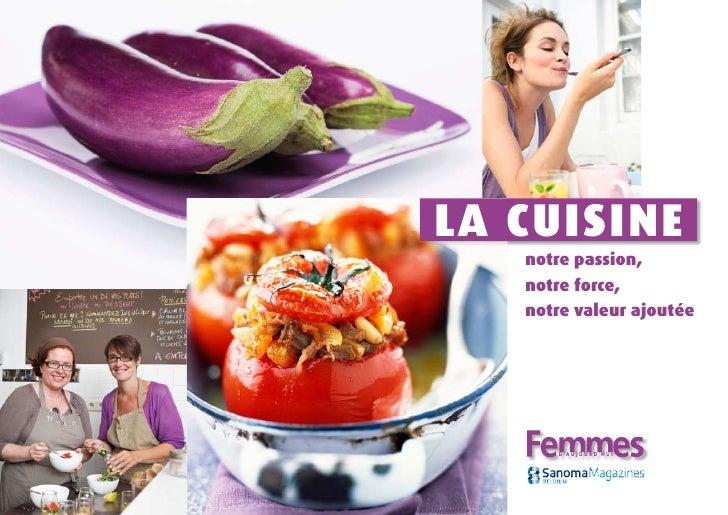 Femmes d aujourdhui Food Positioning
