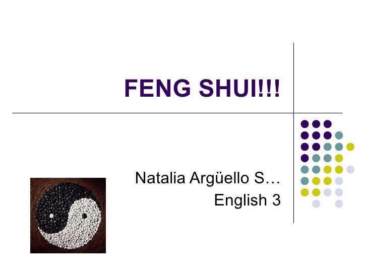 Feng shui!!!