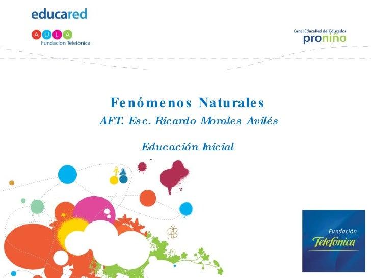 Fenómenos naturales (2)
