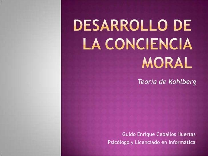 Desarrollo conciencia moral