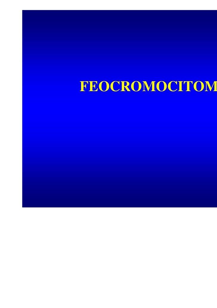 Feocromocitoma: meccanismo di sviluppo e approcci terapeutici