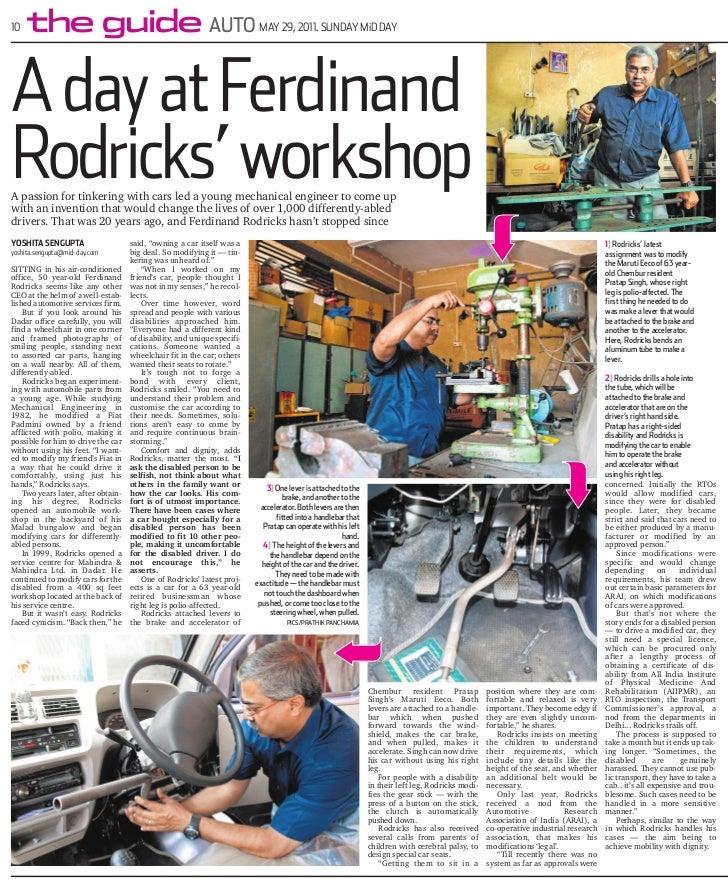 10   the guide AUTO                                                        MAY 29, 2011. SUNDAY MiD DAYA day at FerdinandR...
