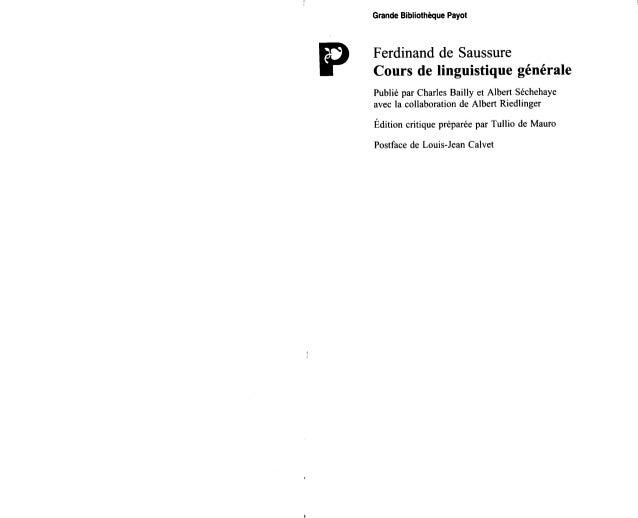 Ferdinand saussure cours-de_linguistique_generale
