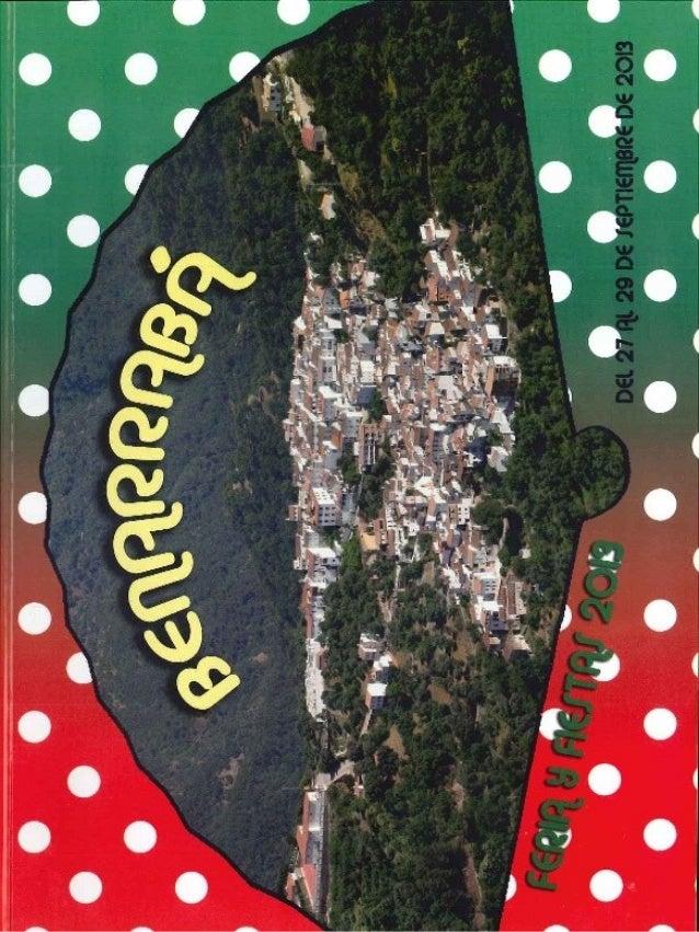 FERIA DE SAN MIGUEL 2013 BENARRABÁ