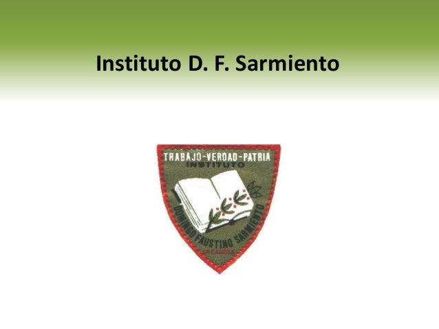 Instituto D. F. Sarmiento