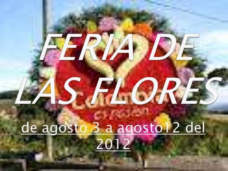 Feria de las flores2012 susana granada agudelo