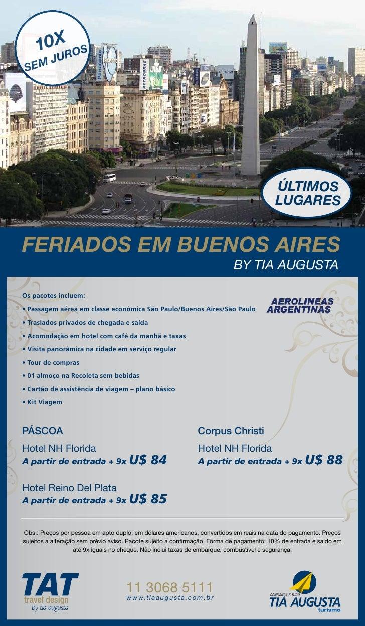Feriados Buenos