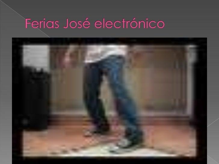 Ferias José electrónico<br />