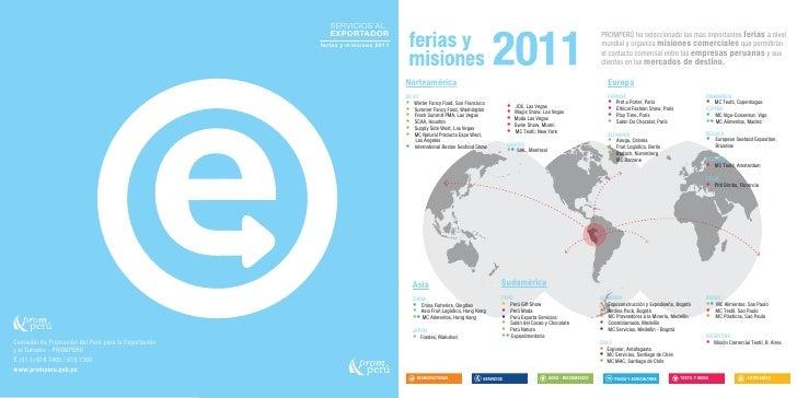Ferias y eventos 2011