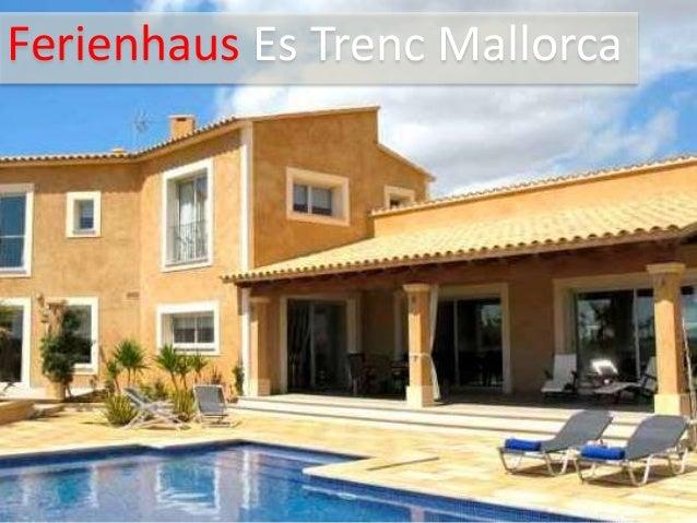 Ferienhaus Es Trenc Mallorca
