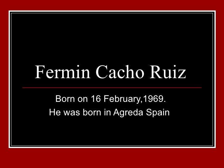 Fermin Cacho Ruiz