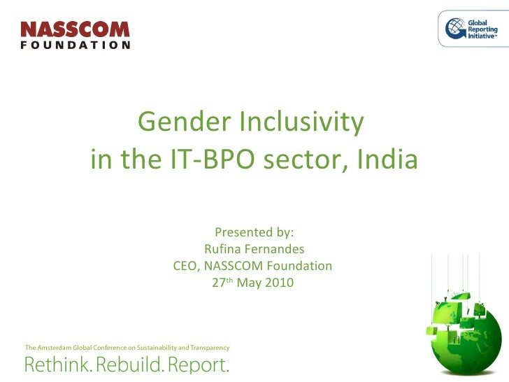 Gender Inclusivity in the IT-BPO sector in India, Presented by Fernandes