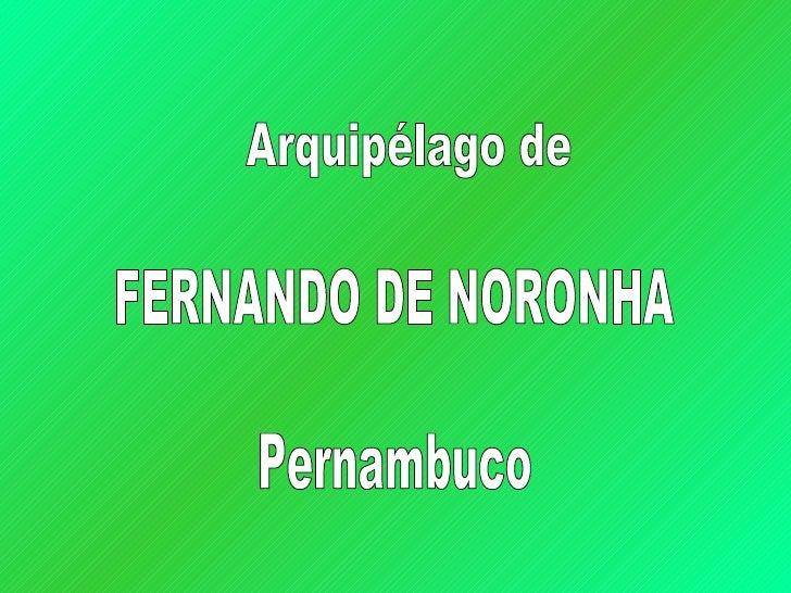 Fernando De Noronha  Pernambuco