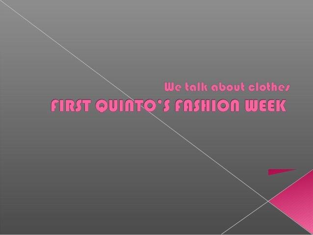 Fernando fashion week