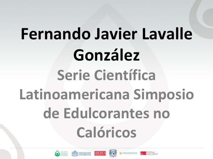 Fernando javier lavalle gonzález