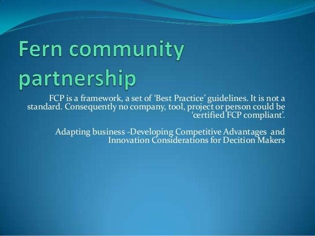 Fern community partnership
