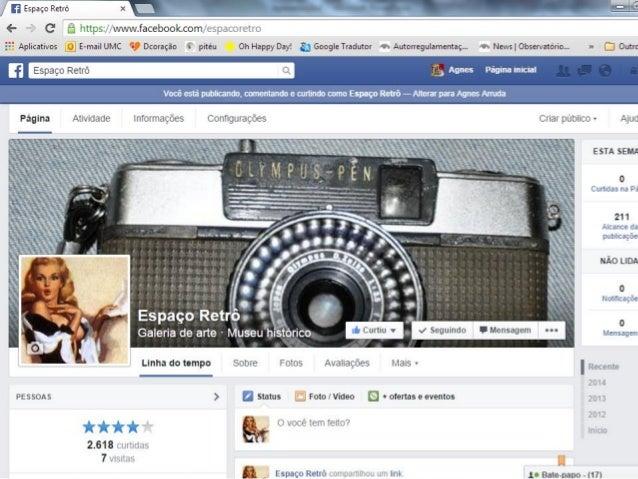 Ferramentas de Gestão no Facebook