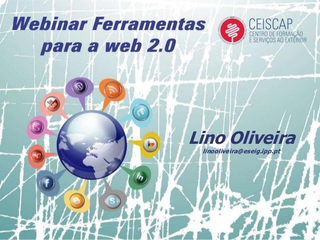 Lino Oliveira linooliveira@eseig.ipp.pt