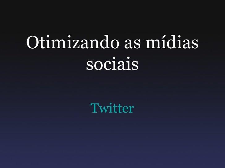 Ferramentas para twitter