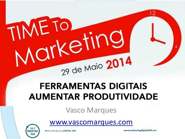 Vasco Marques www.vascomarques.com