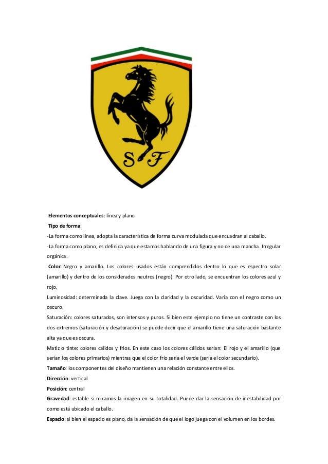 Ferrari y lenguaje visual