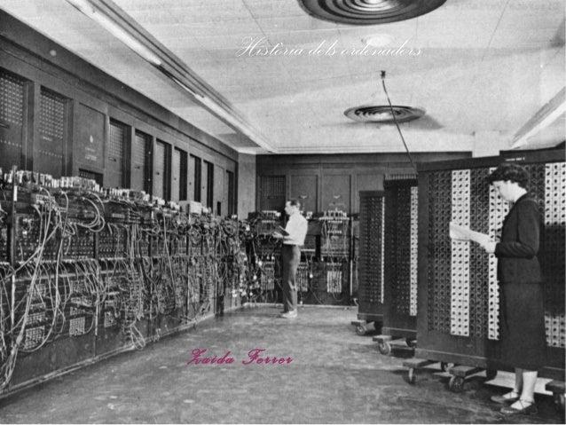 Història dels ordenadors  Zaida Ferrer