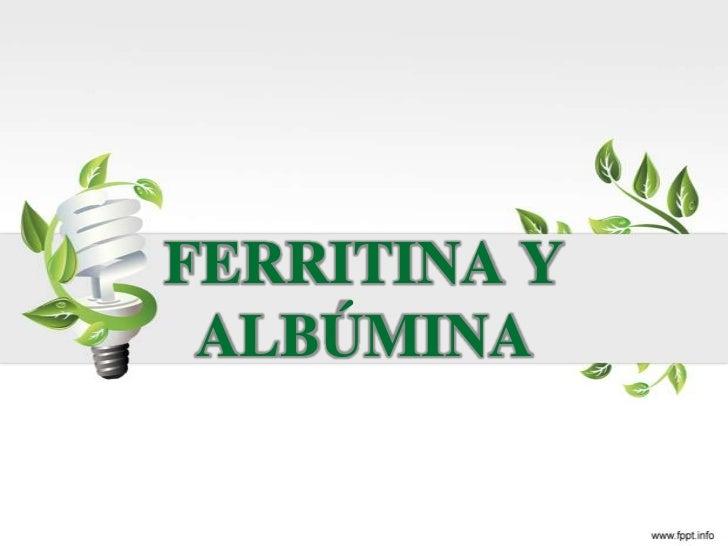 ferritina: