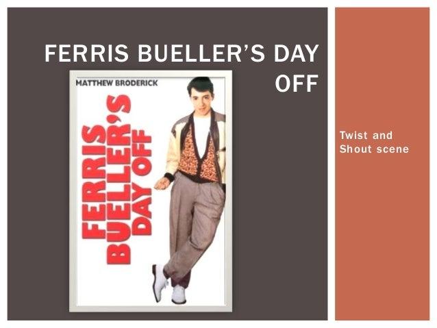 Twist and Shout scene FERRIS BUELLER'S DAY OFF