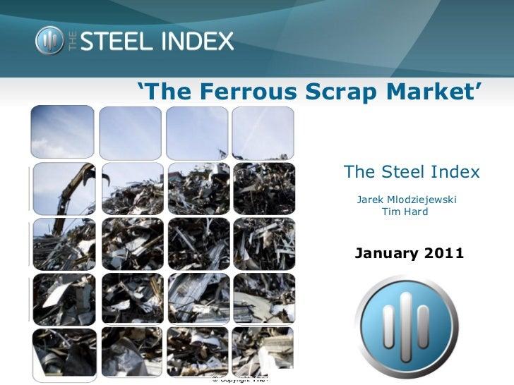 Ferrous Scrap (Tsi) April 11
