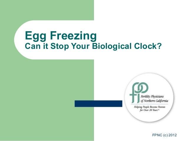 Fertility Physicians of Northern California Egg Freezing 20121203