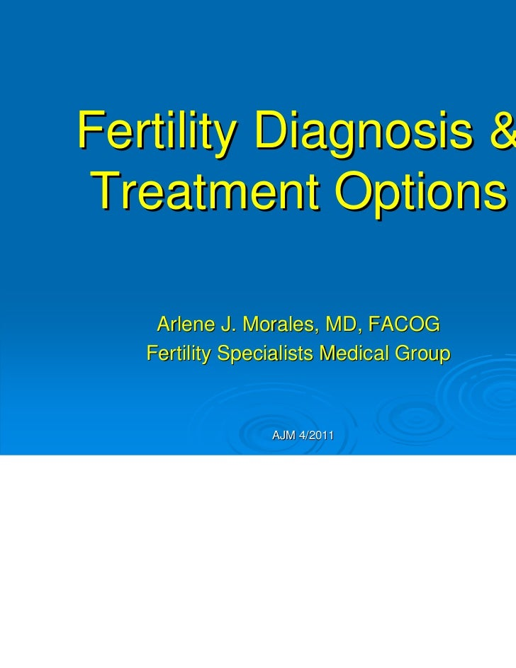 Fertility Diagnosis & Treatment Options