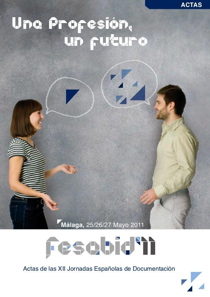 Fesabid11 actas