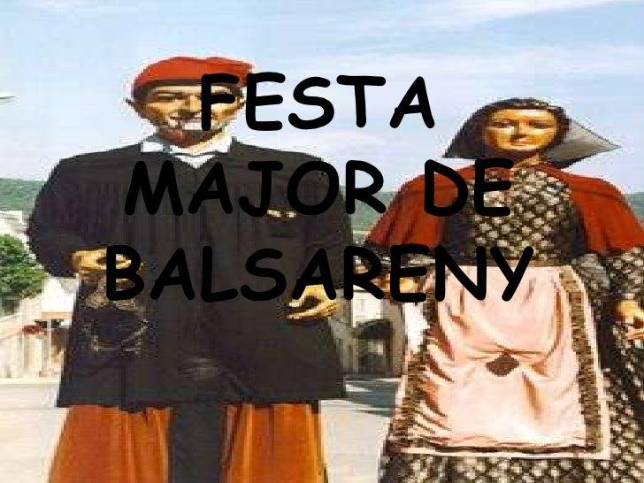 Festa major de balsareny