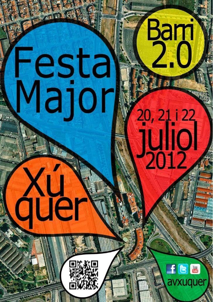 Festa major de xúquer 2012