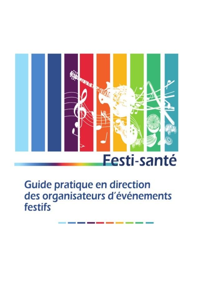Festi Santé 2014 Guide de prévention