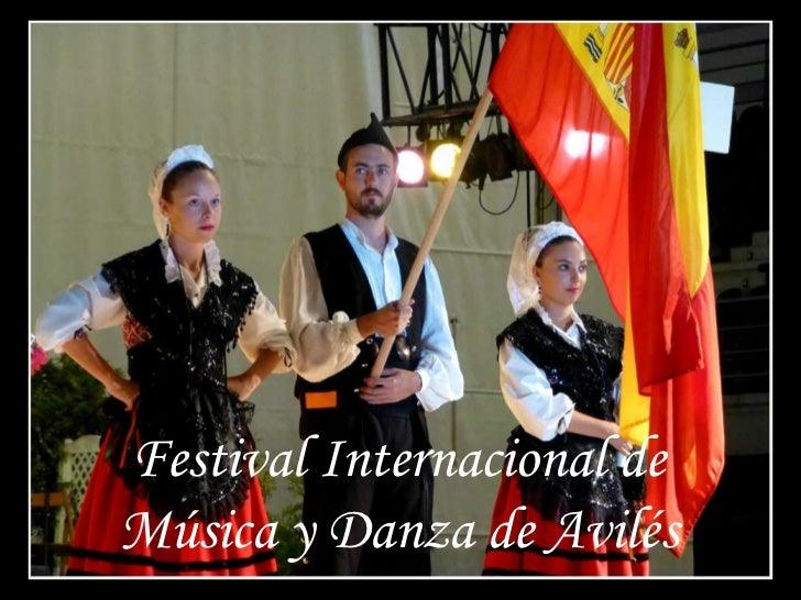 Festival Internacional deMúsica y Danza de Avilés