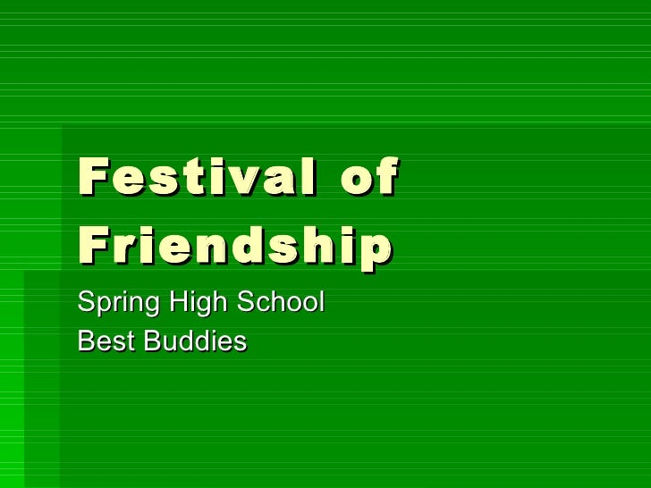 Festival of Friendship