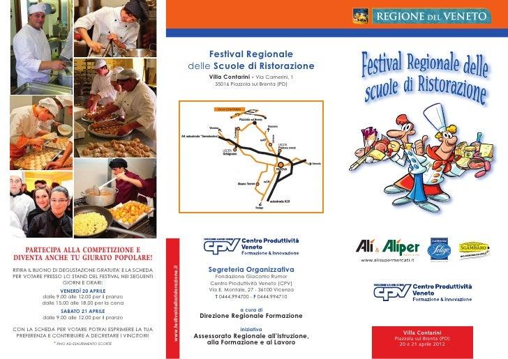 Festival ristorazione 2012