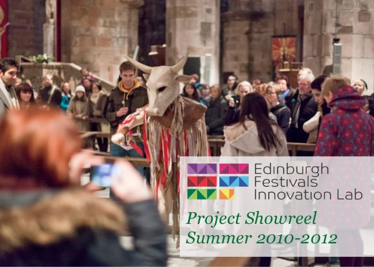 Project ShowreelSummer 2010-2012