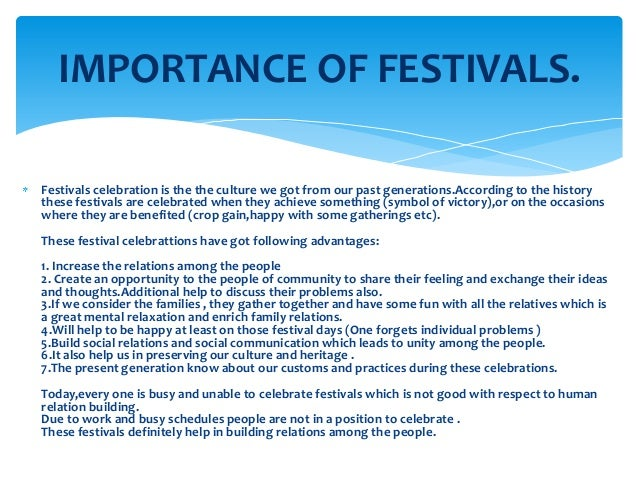 festivals half in japan essay