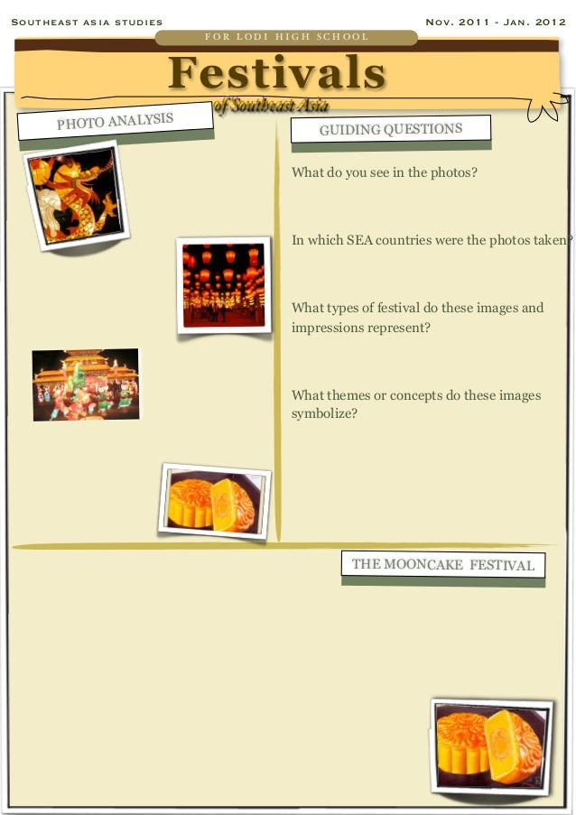 Festivals of southeast asia