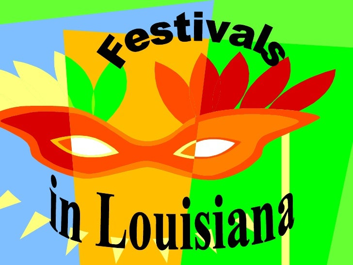 Festivals in Louisiana