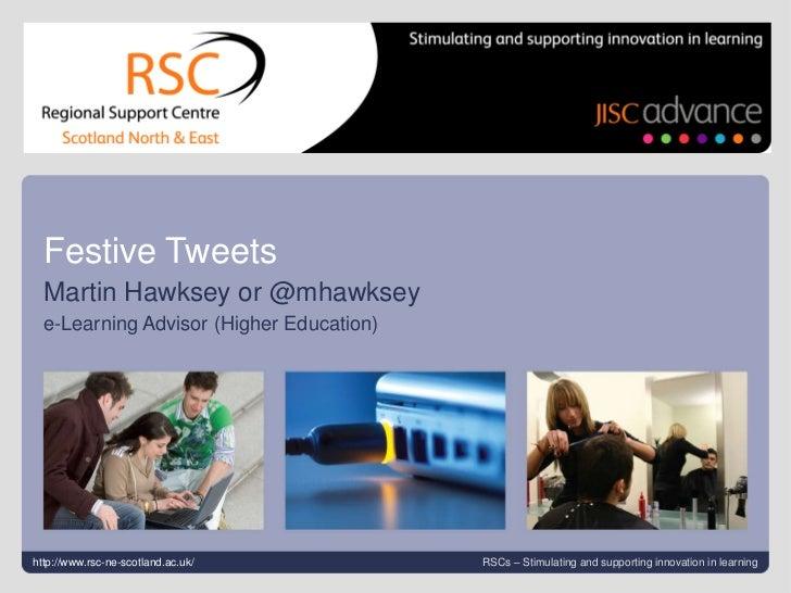 Festive tweets
