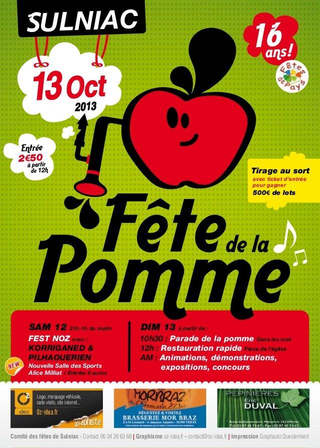 Pomme Fêtede la SAM 12 21h-1h du matin FEST NOZ avec : KORRIGANED & PILHAOUERIEN Nouvelle Salle des Sports Alice Milliat /...