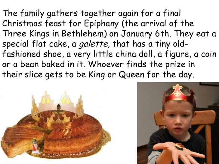 The family gathers together again for a final Christmas feast for Epiphany (the arrival of the Three Kings in Bethlehem) o...