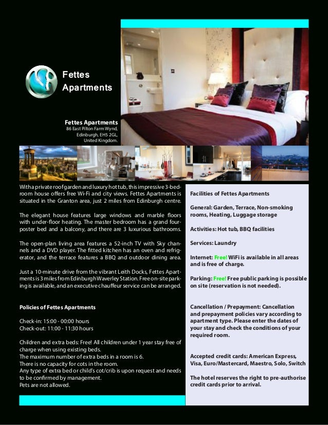 Fettes customer pdf