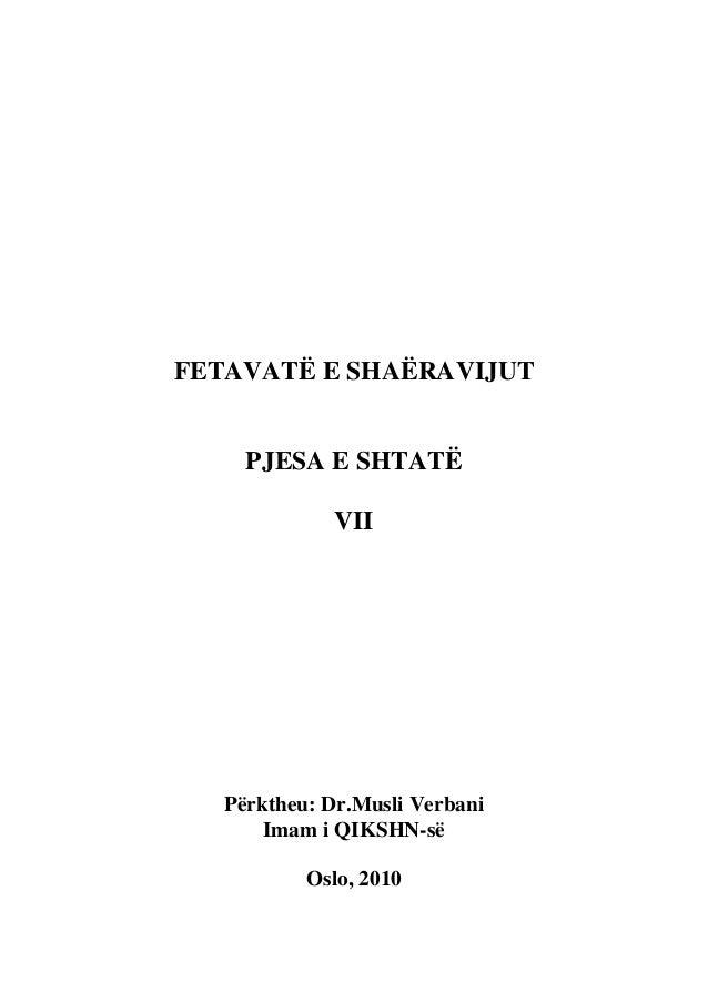 Muhamed Muteveli Esh-Sharaviu - Fetva pjesa 7